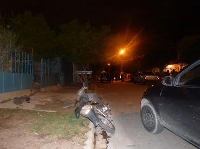 Detuvieron a un motochorro que asaltó una despensa en la zona sur