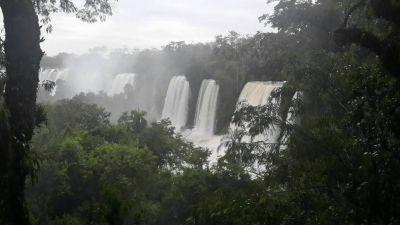 Se inauguraron las nuevas pasarelas en el circuito superior en las Cataratas del Iguazú