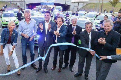 Massa y Andreotti inauguraron posta policial en San Fernando
