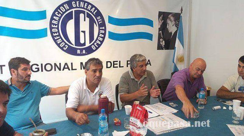 La CGT Mar del Plata adhiere al paro del 31 de marzo