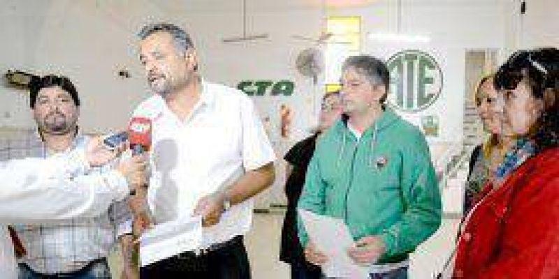 Municipales de ATE rechazaron la oferta salarial del Ejecutivo