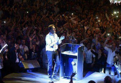 """Massa: """"Les vamos a ganar así se llame Juan, Pedro o Cristina"""""""