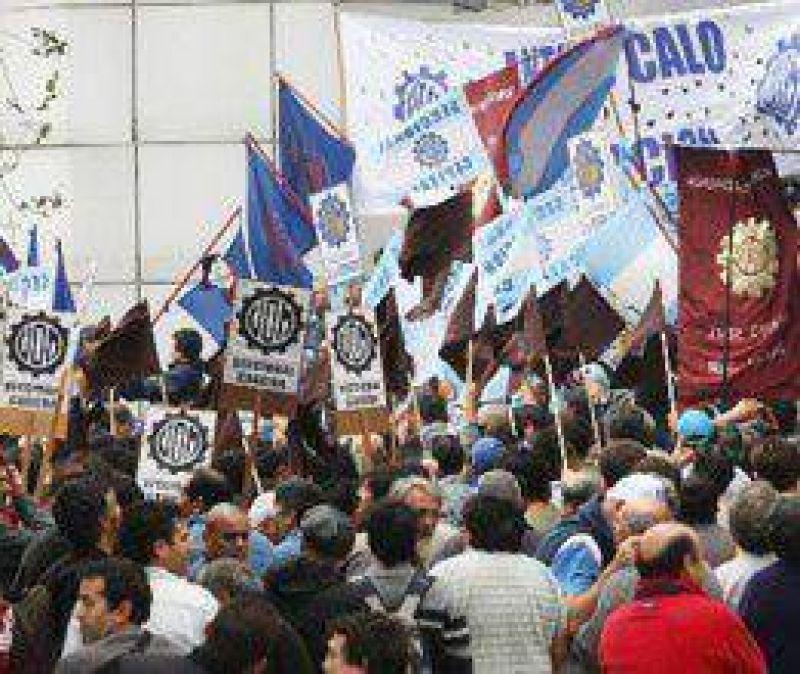 #31M: La UOM dejó en libertad de acción a sus afiliados