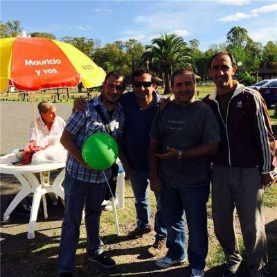 Durquet anduvo dando a conocer la propuesta de Macri en el parque