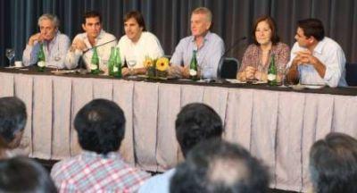 El Frente Renovador con De Narváez y Faroni se mostró unido y fuerte en Mar del Plata