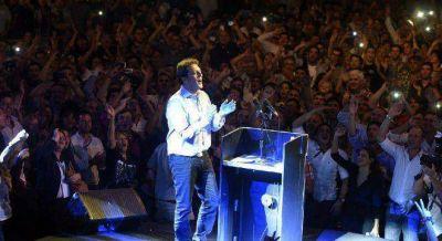 """Massa relanza su campaña con el slogan """"El cambio justo"""" para ganarle a Macri"""