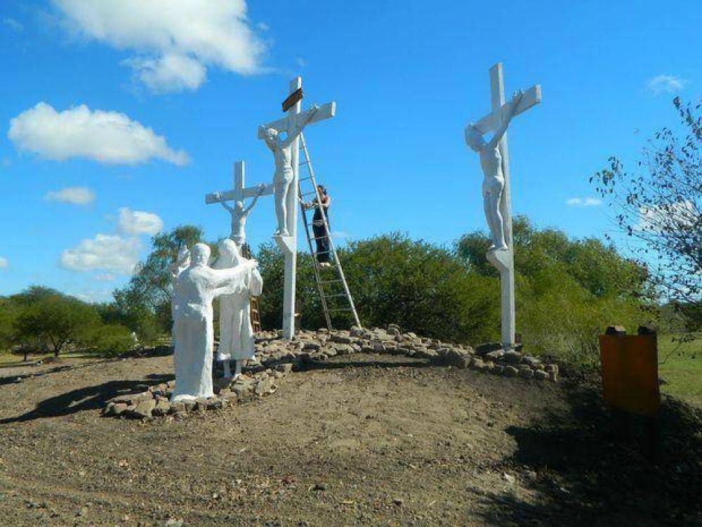 El Viernes Santo se bendecirá el Vía Crucis y quedará habilitado para su recorrido