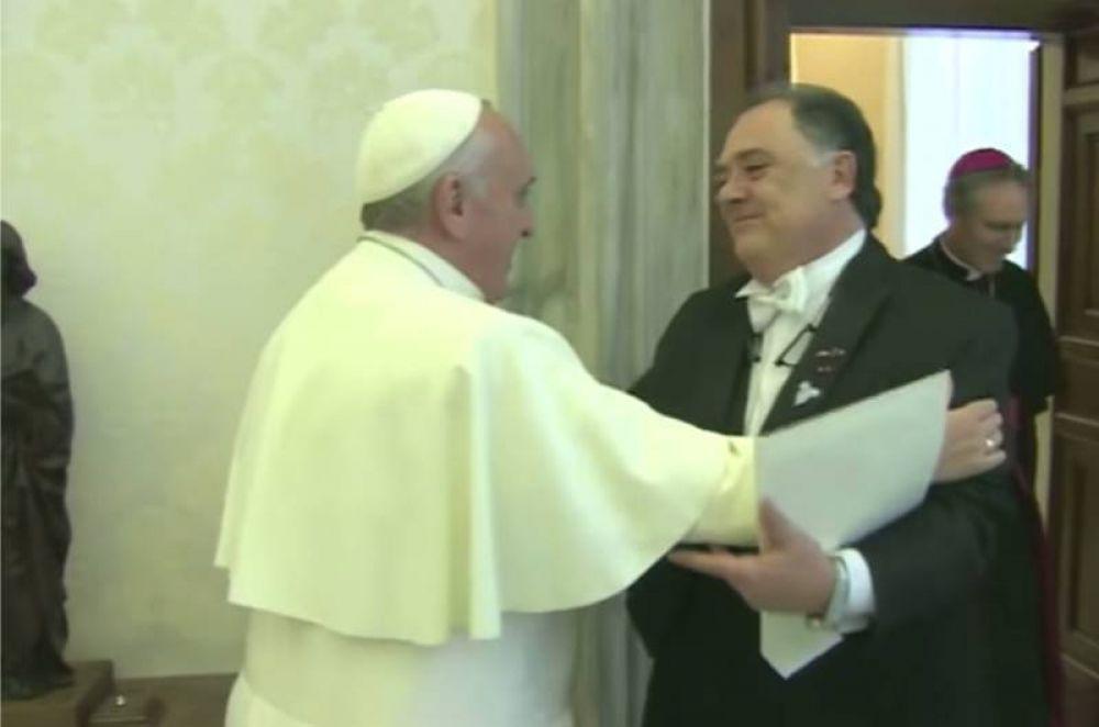 El Papa de las bienaventuranzas