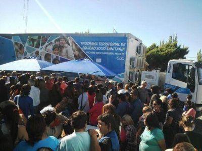Móviles Sanitarios llegarán el lunes a Puerto Santa Cruz