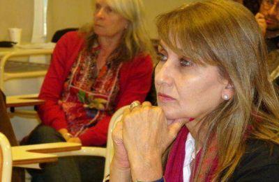 """Del Corro repudió la actitud de Catena """"no puede ser la imagen de los docentes en Tierra del Fuego"""""""