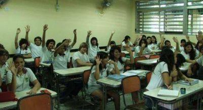 El Chaco aumentó su matrícula escolar de colegios secundarios