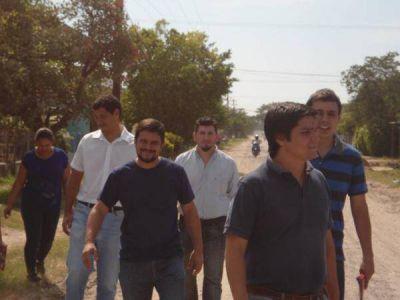 Arce y Seró señalaron el abandono municipal y los problemas de inseguridad, drogas y falta de trabajo que padece la juventud