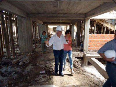 Ponderan avance de los trabajos de mejora en infraestructura