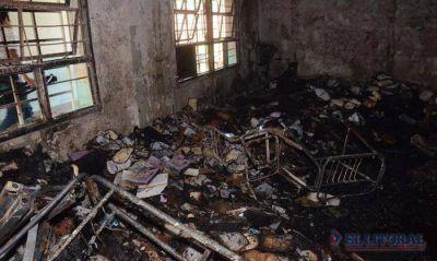 La solidaridad también hace su aporte para poder recuperar el colegio Piragine Niveyro