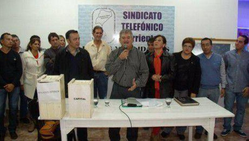 El Sindicato Telef�nico de Corrientes no adhiere al paro del d�a 31 de marzo