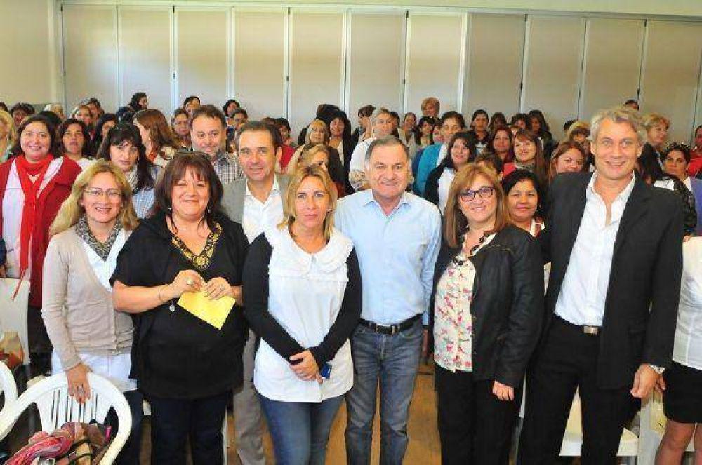 Pereyra lanzó la campaña de prevención de cáncer de cuello de útero en el distrito