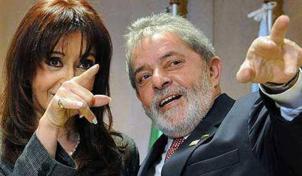 La Presidente se reunió con Lula y le organizó una cita a Débora Giorgi