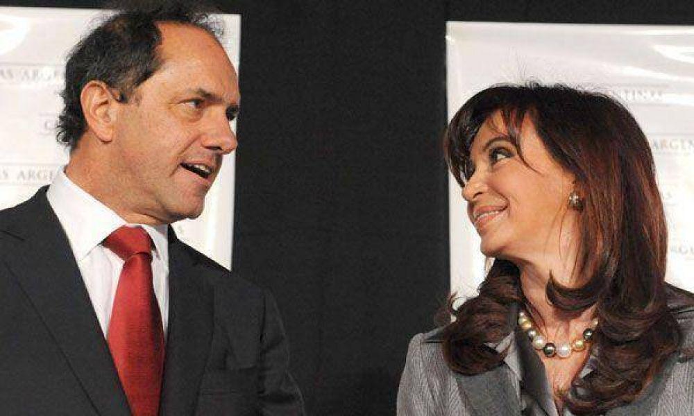 En la semana la Presidente recibirá a Scioli y a más gobernadores
