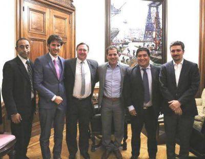 Ritondo se reuni� con candidatos del PRO de la Segunda Secci�n electoral