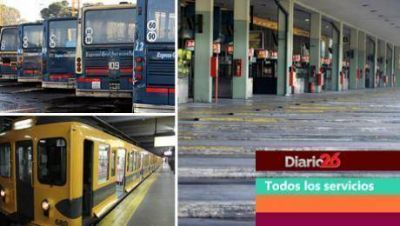 Paro de transportes: ¿cuáles son los servicios afectados?