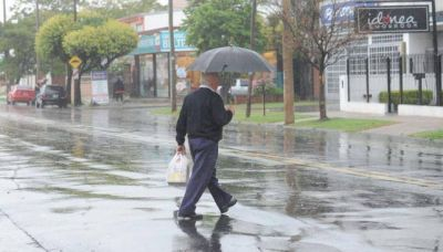 Se viene la lluvia a Córdoba