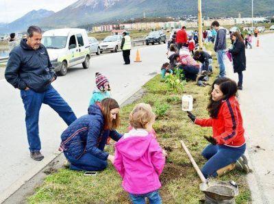 Embellecimiento de la ciudad gracias al trabajo conjunto de vecinos e instituciones