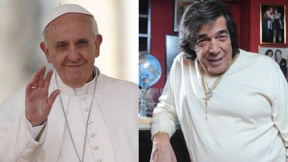 El mensaje del Papa Francisco para Cacho Castaña