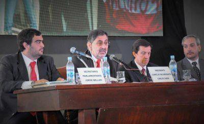 El intendente Raúl Jorge insistió en la sanción de una ley de coparticipación municipal