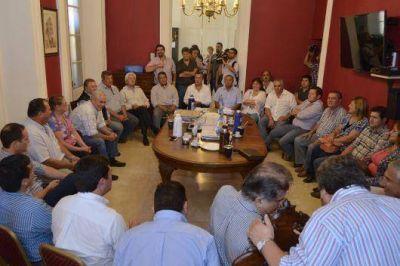 Intendentes del PJ acordaron estrategias para los comicios nacionales, provinciales y municipales