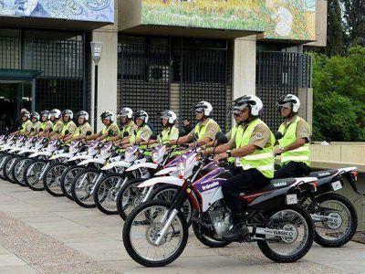 Capital presentó nuevas motos para prevención y orden del tránsito