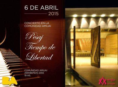 """Concierto """"Pesaj, tiempo de libertad"""" en la Comunidad Amijai"""