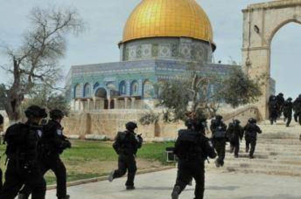 Colonos israelíes irrumpieron en la mezquita Al Aqsa