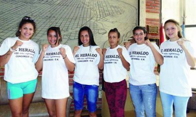 Boxeadoras de Concordia se destacan en Salta
