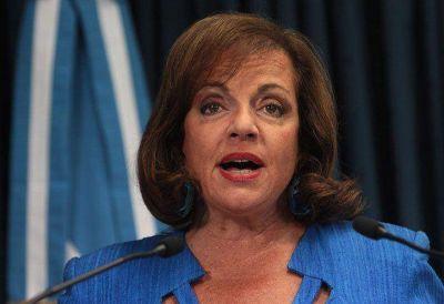Nilda Garré también negó tener cuentas en el extranjero