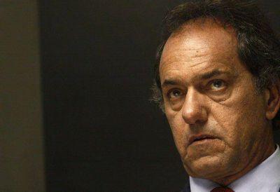 Daniel Scioli salió en defensa de Máximo Kirchner