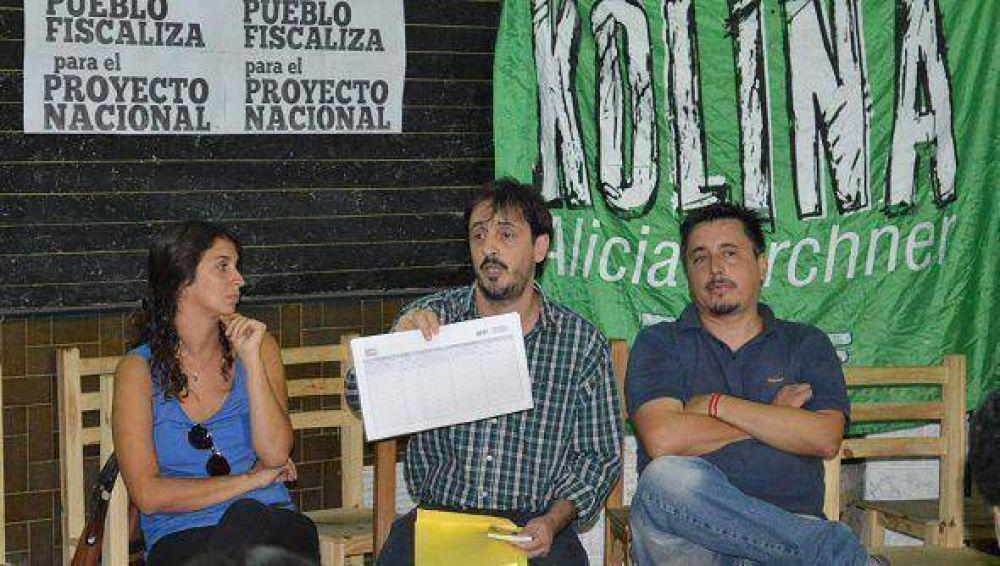 """KOLINA Tigre lanzó """"El Pueblo Fiscaliza para el Proyecto Nacional"""
