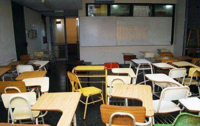 El paro se hizo notar en el sector educativo