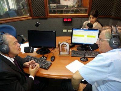 José Maria del Coral presidente de Scholas Ocurrentes visitó Radio María