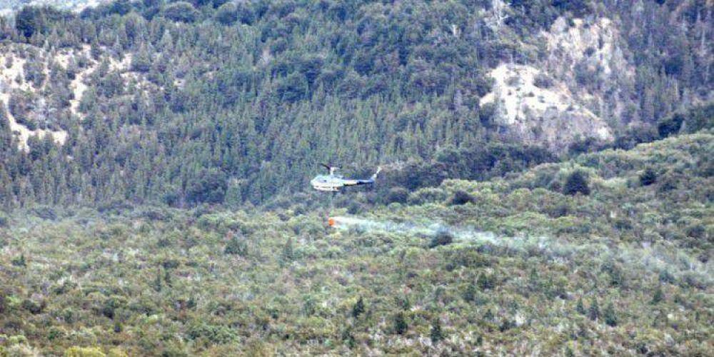 POBLADORES DAMNIFICADOS POR INCENDIOS: El Gobierno del Chubut intensifica el trabajo para dar respuestas