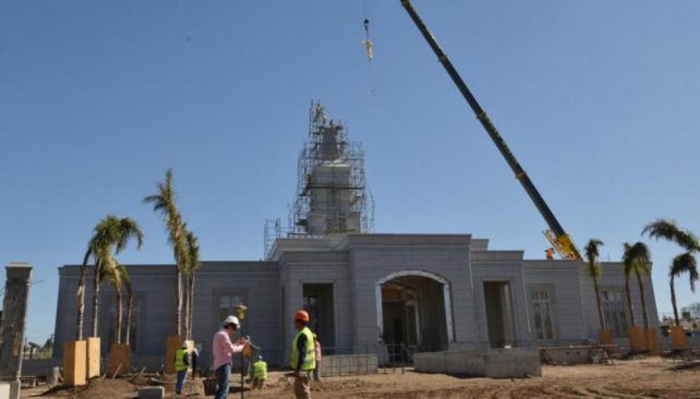 La iglesia mormona abre al público su segundo templo más grande