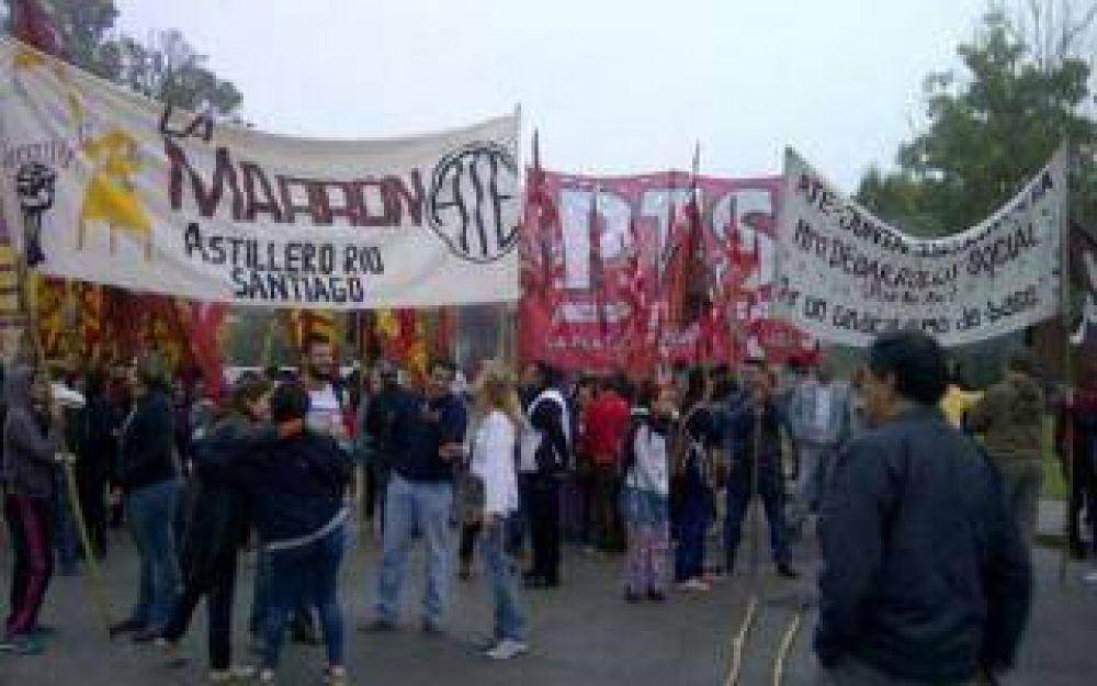 #31M: Cortes en Tigre, Avellaneda, Morón, Lomas de Zamora y La Plata