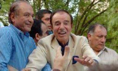Eduardo Menem se baja si su hermano Carlos va por la gobernación