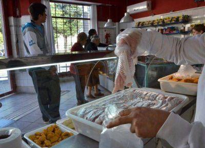 El precio del pescado en Semana Santa aumentó un doce por ciento
