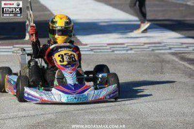 Karting: Emiliano Stang ganó en la Copa Rotax