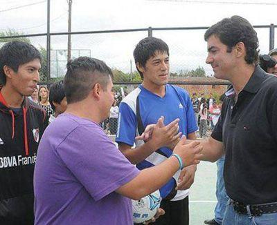 Playones para la práctica deportiva en dos barrios