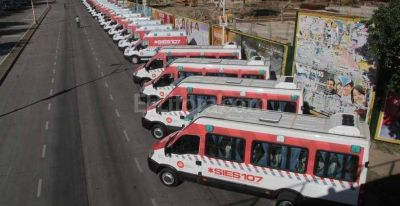 Suman 19 ambulancias para la regi�n metropolitana de Santa Fe