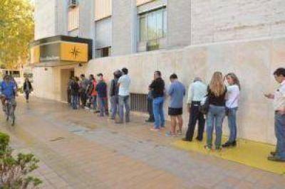 El paro en San Juan solo sintió en transportes y bancos