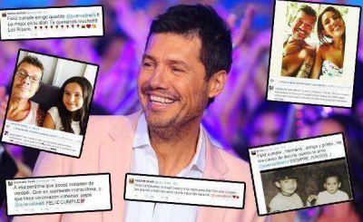 Marcelo Tinelli celebra sus 55 años: los emotivos mensajes de sus hijos y sus seres queridos