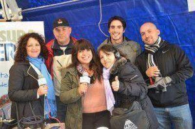 Radio Nacional realizó un especial desde el lugar de la Vigilia
