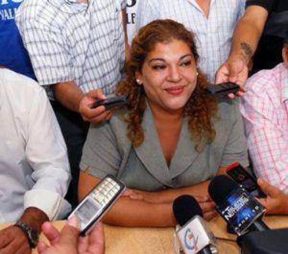 La intendenta Soria, totalmente aislada de sus ex socios políticos